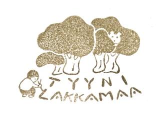 占い師さんのロゴです。森と子供がテーマでした。